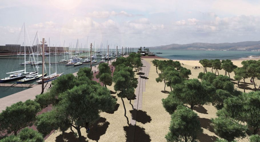 Port reconstruction
