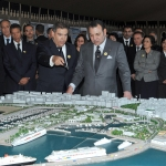Projet de reconversion du port de Tanger : La visite royale